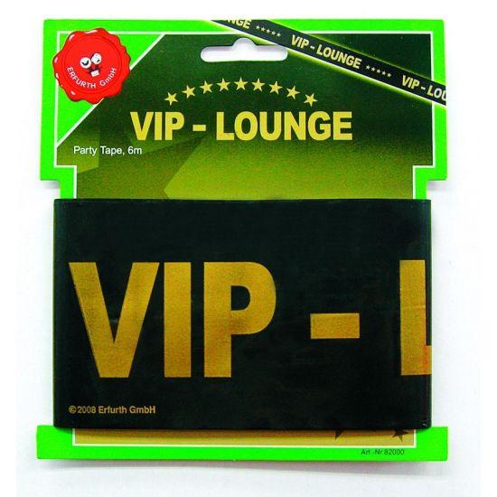 Afzetlint VIP lounge 6 meter  Markeerlint Vip-Lounge 6 meter. Zet uw VIP feestje af met dit zwarte VIP afzet lint! Het lint is ongeveer 6 meter lang en gemaakt van plastic.  EUR 2.25  Meer informatie  #sinterklaas #zwartepiet