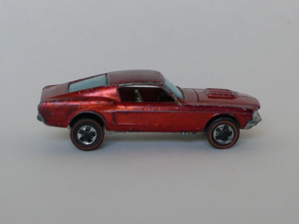 Vintage 1967 Hot Wheels Redline Custom Mustang Hotwheels Ford
