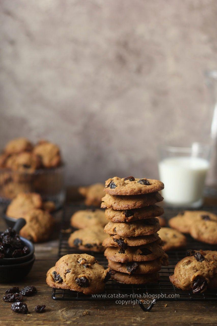 Raisin Cookies Kue Kering Kismis Catatan Nina Kue Kering Kismis Drop Cookies