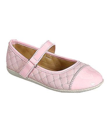 This Pink Quilted Vanna Mary Jane is perfect! #zulilyfinds