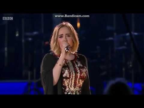 Adele Make You Feel My Love Live At Glastonbury 2016