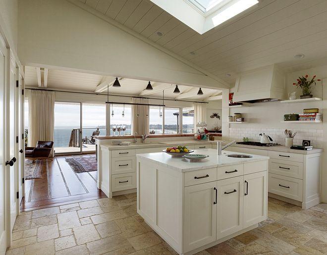Superior Rocky Mountain Hardware Sash Cabinet Pulls // Beach Style Kitchen By  Arrowood Design LLC