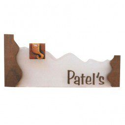 Patel S Glass Name Plate Name Plate Pinterest Names Name