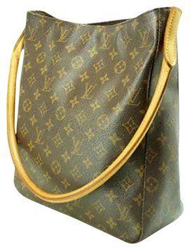 eaf639491909 Louis Vuitton Pre-owned Lv Monogram Looping Gm M51145 Nr Popular Item! Tote  ! Clean!! Shoulder Bag  803