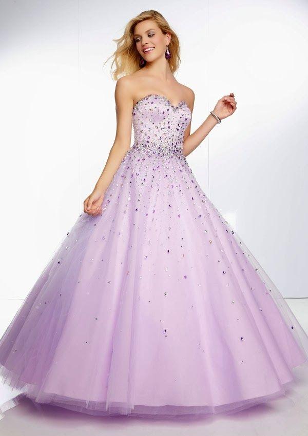 Excelentes vestidos de 15 años estilo princesa | Tendencias | Sweet ...