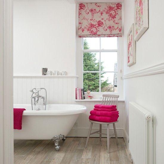 Wohnideen Country wohnideen badezimmer hell rosa königlich foto philips