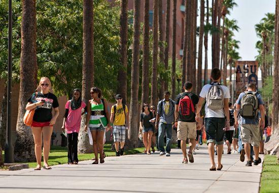 Palm Walk @ ASU. Miss it!