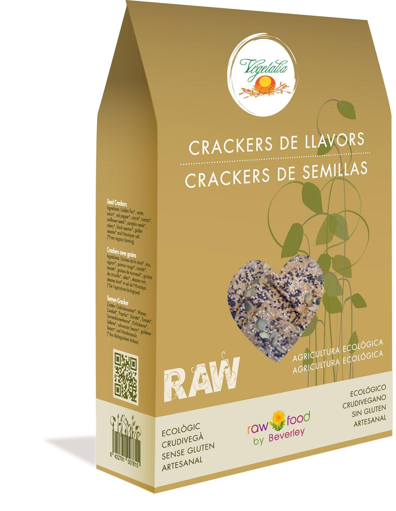 Crackers de Semillas - Raw Food www.rawfooddietforlife.com