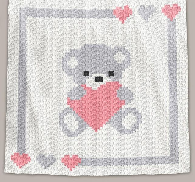 This pattern is for C2C crochet blanket. It is available for instant ...