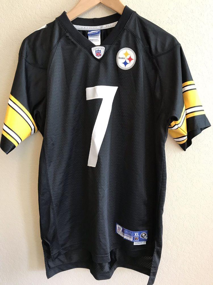 2b864943e Ben Roethlisberger Pittsburgh Steelers Youth XL 18-20 Jersey  7 NFL Reebok   Reebok  PittsburghSteelers
