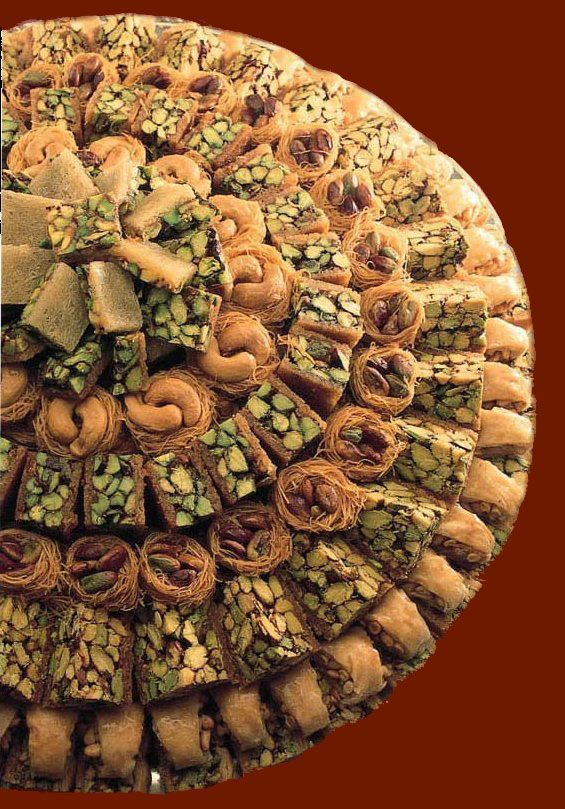 Semirmais Authentic Welcome Arabic Sweets Syrian Food Middle Eastern Desserts