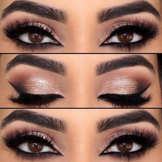 Photo of 66 Möglichkeiten zum Auftragen von Lidschatten für braune Augen   – makeup –  …