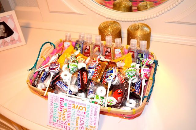 Labor and Delivery nurses thank you basket. Will have to keep this in mind for the future