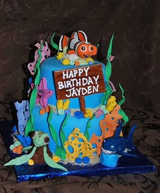 Finding Nemo Cake Party Ideas John Pinterest Finding Nemo
