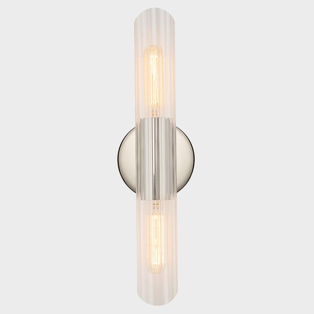 Mitzi By Hudson Valley Lighting Cecily 2 Light Polished Nickel