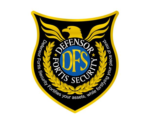 Defensor Fortis Security Logo Design Logo Design Diy Logo Design Minimal Logo Design
