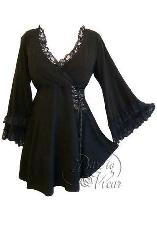 fc97b98aeb Dare To Wear Gothic Women s Victoria Corset Top Black