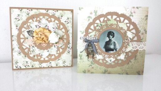 Couture Creations: Vintage Rose Garden Collection & Dies: Card Set by Amanda Baldwin