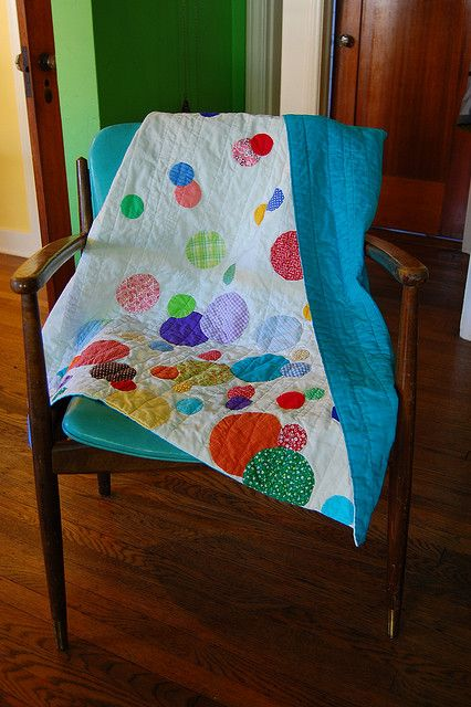 Confetti Quilt by Lady Harvatine, via Flickr