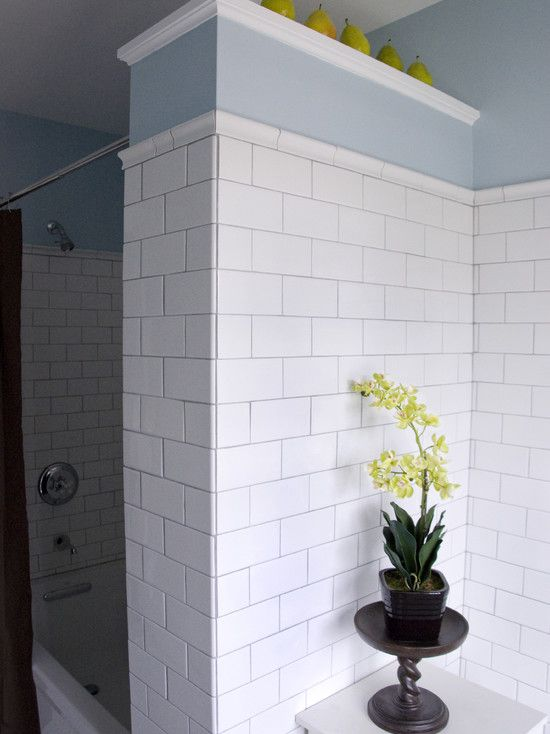 Floor And Decor Subway Tile Brilliant White Subway Tile Shower Design Pictures Remodel Decor And Design Decoration