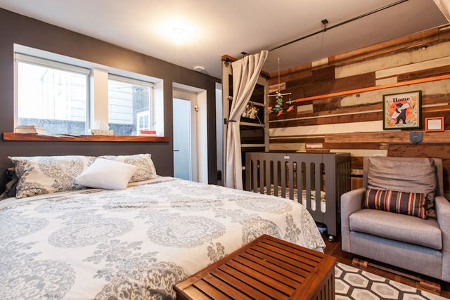 How One Family Made A Teensy Pad Work Baby Room