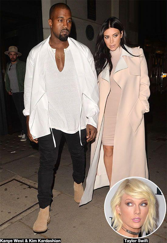 Taylor Swift Music Video Maker Calls Kim Untalented Woman Kanye West And Kim Kim Kardashian Kanye West Kim Kardashian And Kanye