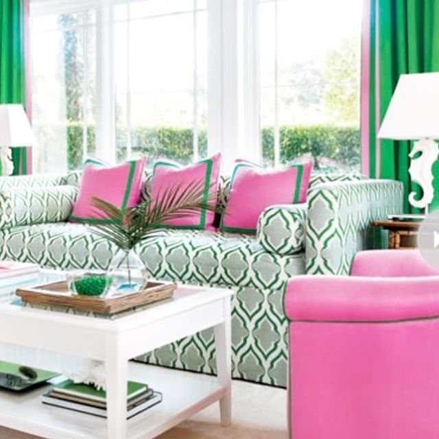 Pink And Green Heaven Miami Jewel By Anne Hepfer