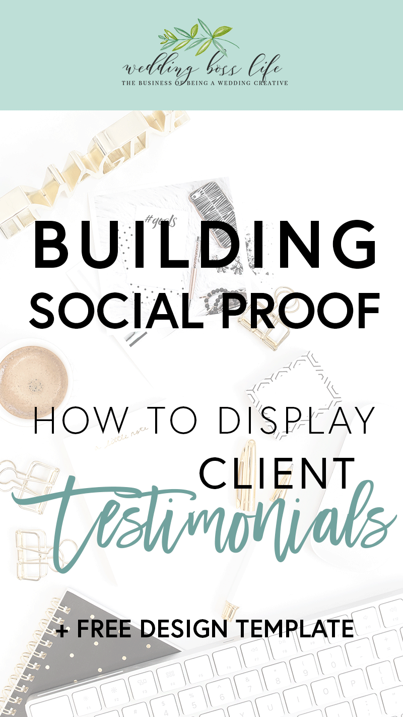 How to showcase client reviews on your website social media free testimonial template for canva aside from word of mouth referrals testimonials wajeb Images