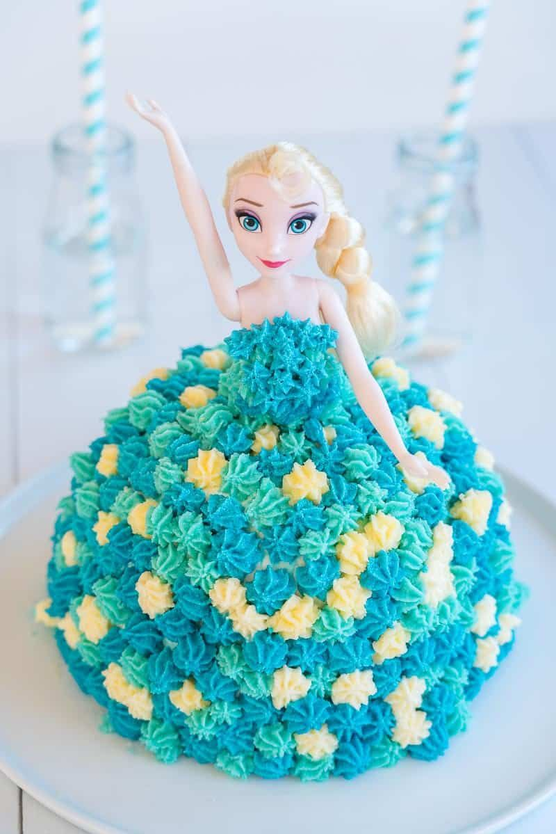 Awesome Elsa Birthday Cake Recipe Elsa Birthday Cake Cake Designs Birthday Cards Printable Benkemecafe Filternl