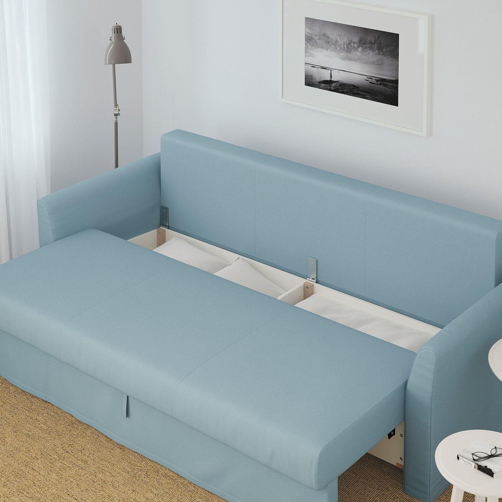 Holmsund Sleeper Sofa Orrsta Light Blue Ikea In 2020 Best Sleeper Sofa Diy Sofa Bed Sleeper Sofa