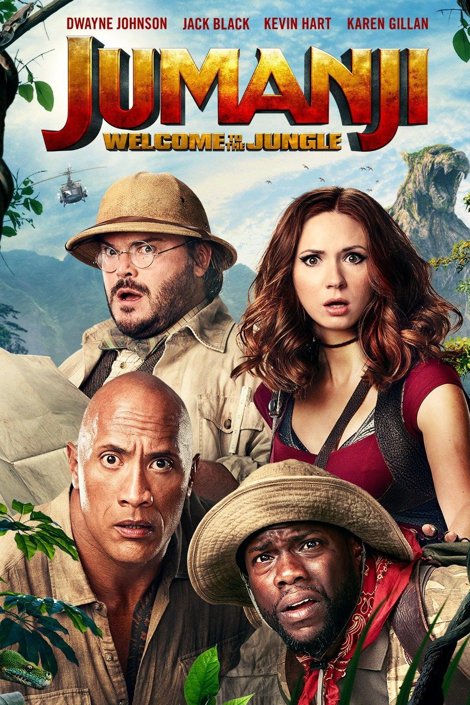 Pg 13 2017 Action Comedy 1h 59m Welcome To The Jungle Adventure Movies Free Movies Online