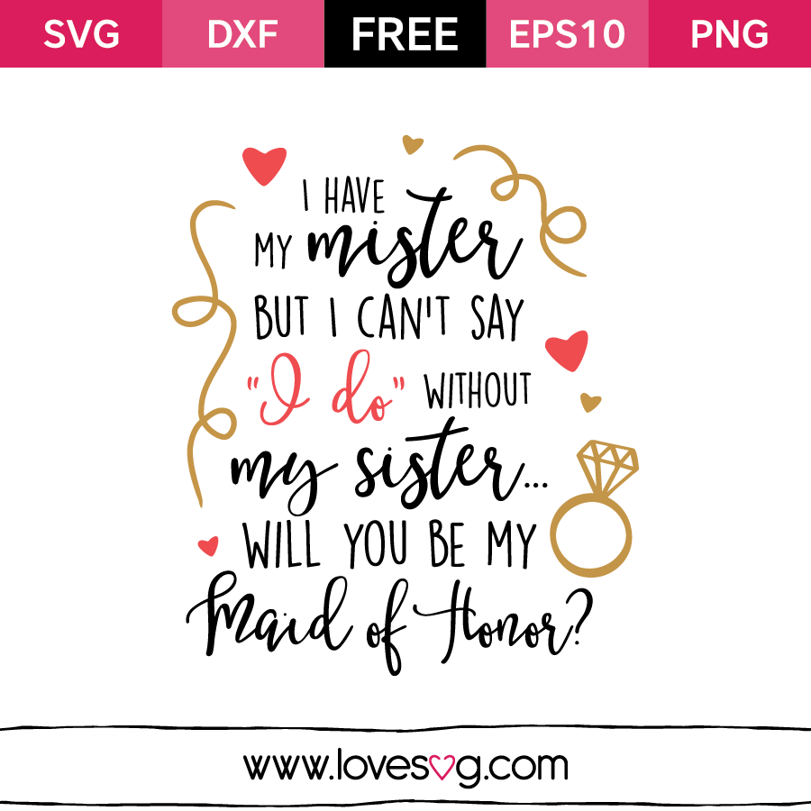Download I have my mister | Cricut wedding, Wedding silhouette ...