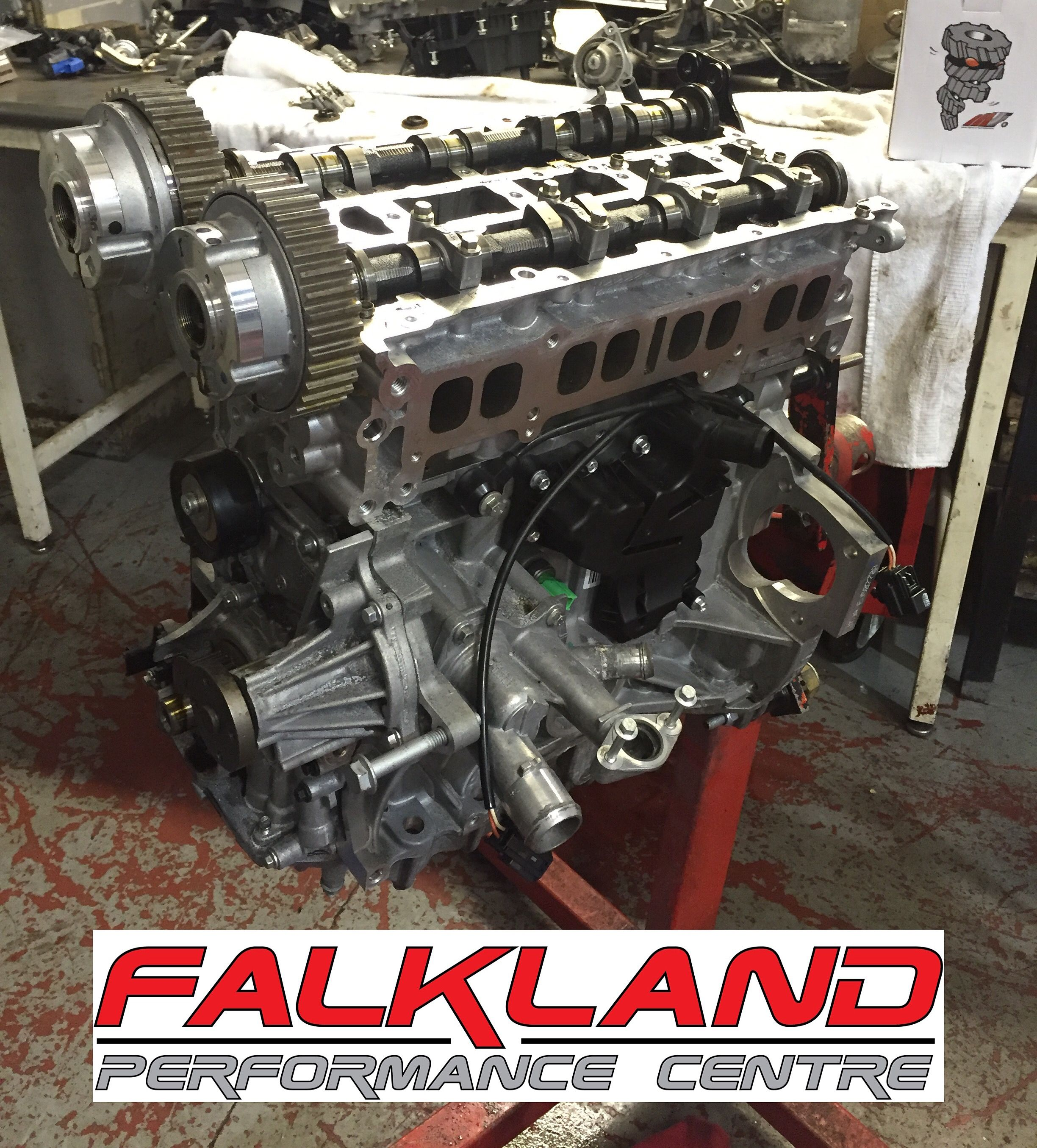 our ford fiesta st180 1 6 ecoboost donor engine being timing belt replacement of ford fiesta