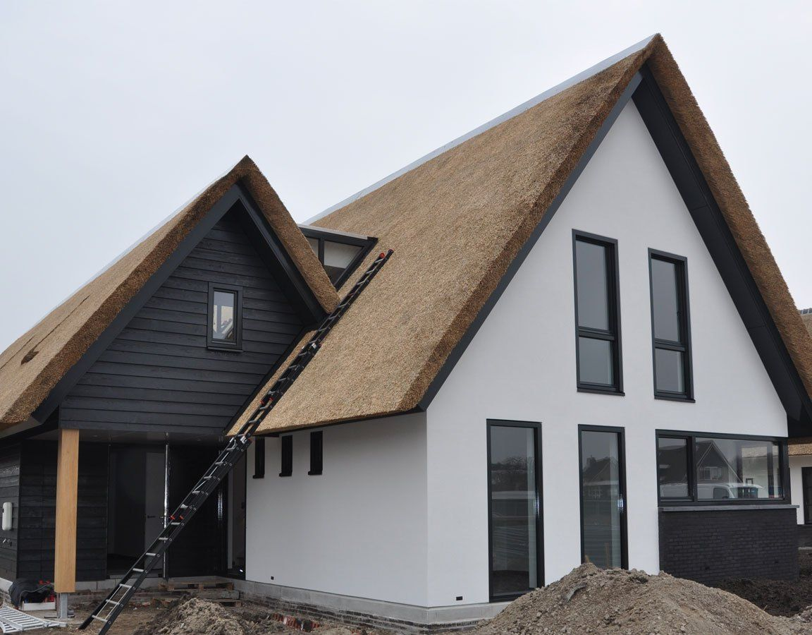 Woning oud beijerland in woningen huizen huis ontwerpen