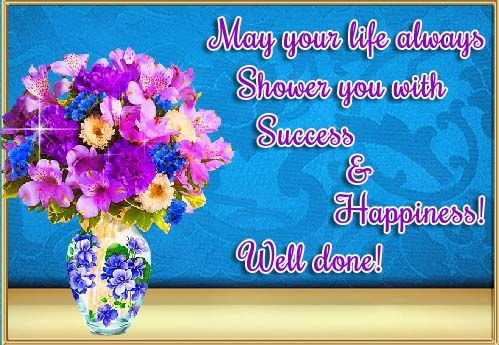 Congratulation Wishes To Encourage And Shower Them With Success