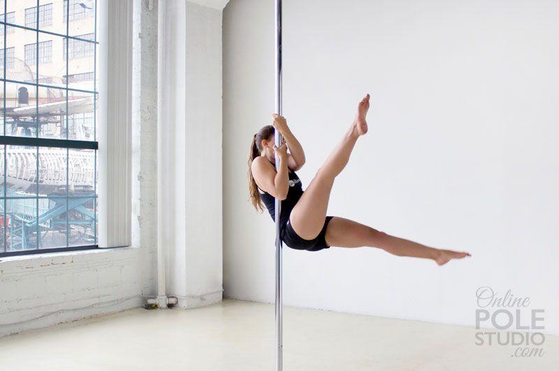 Beginner Pole Dance Moves Pole Dancing Pole Dancing Fitness Pole Dance Moves