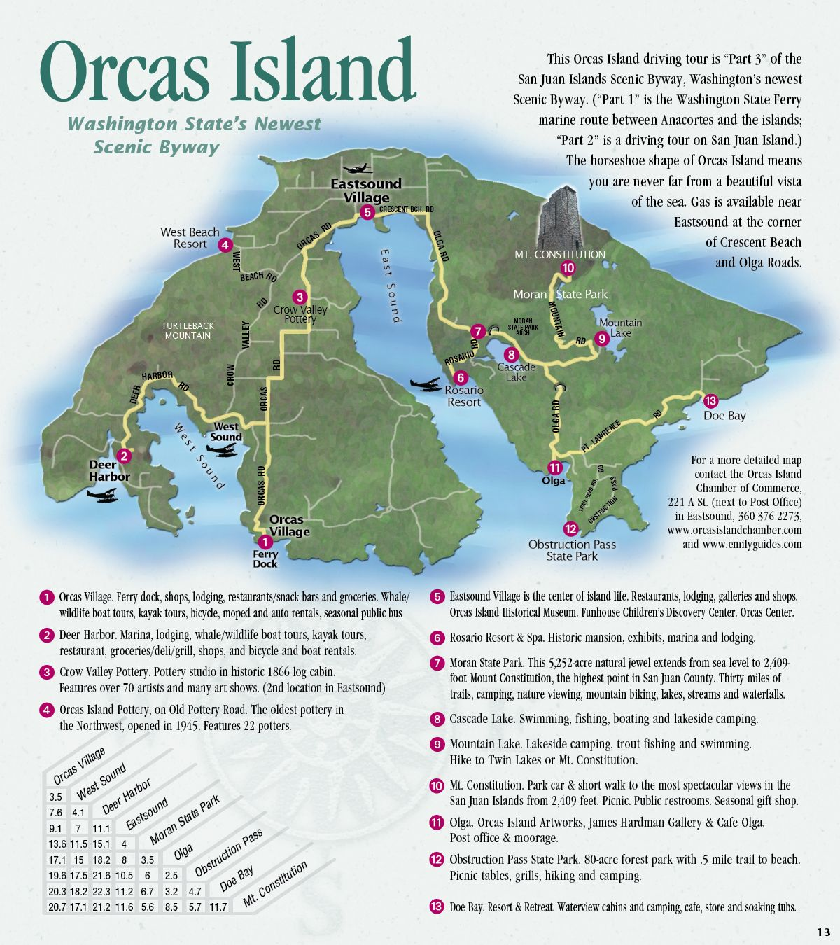Scenic Byway Driving Tour Eastsound Landmark Inn Orcas Island Washington Travel Washington State Travel Pacific Northwest Travel
