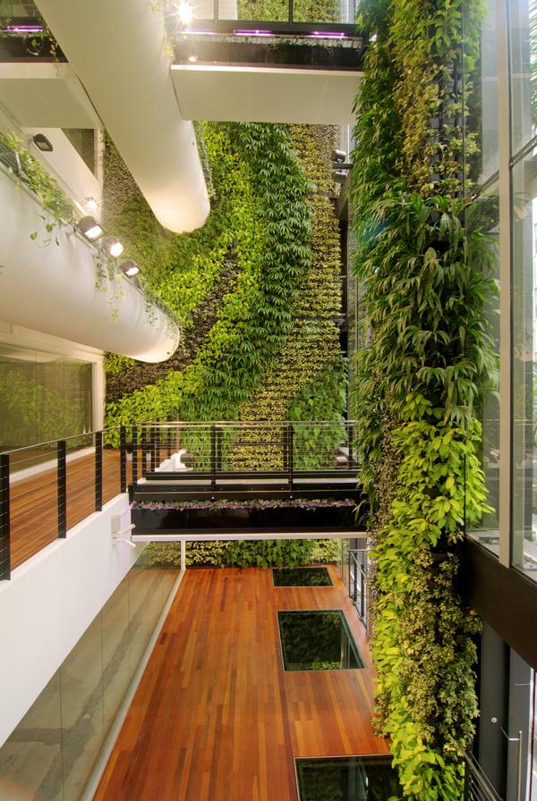 Espectaculares jardines verticales aptos para cualquier for Jardines espectaculares