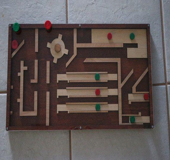 Magnetic maze escape room maze puzzle and prop maze for Escape puzzle
