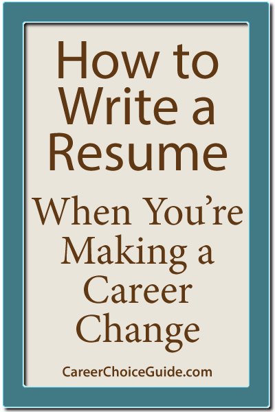 How To Write A Career Change Resume Want To Travel The World And