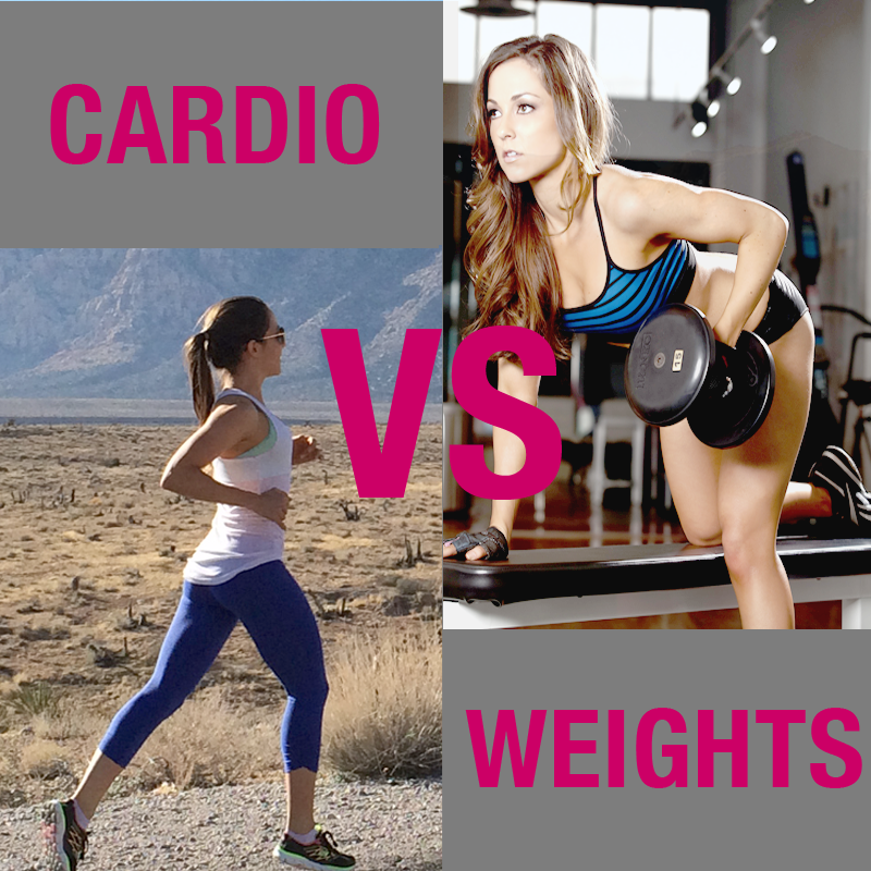 cardio vs weights to lose weight