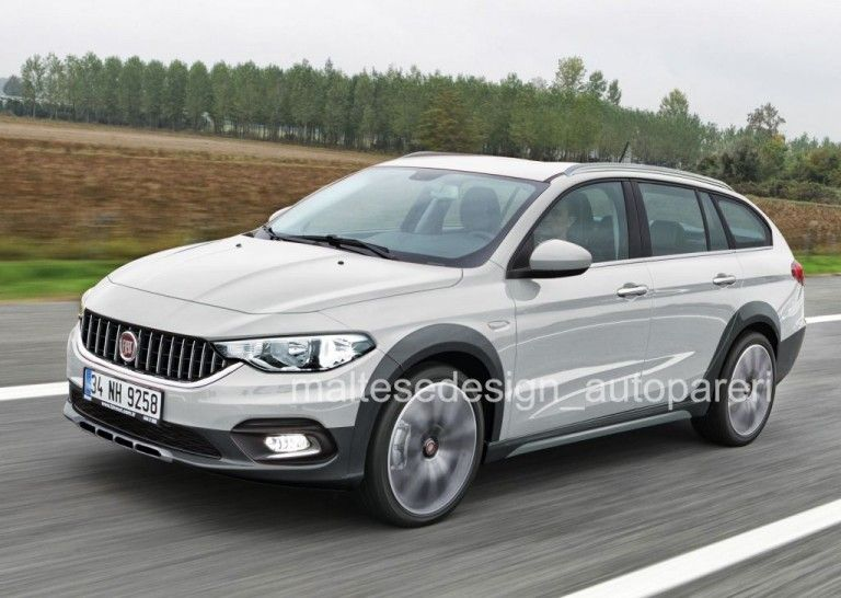 Fiat Tipo Estate Cross Rendering With Images Fiat Tipo Fiat