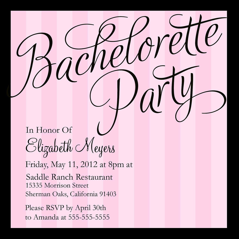 bachelorette party invitations - Google Search | Invitations ...