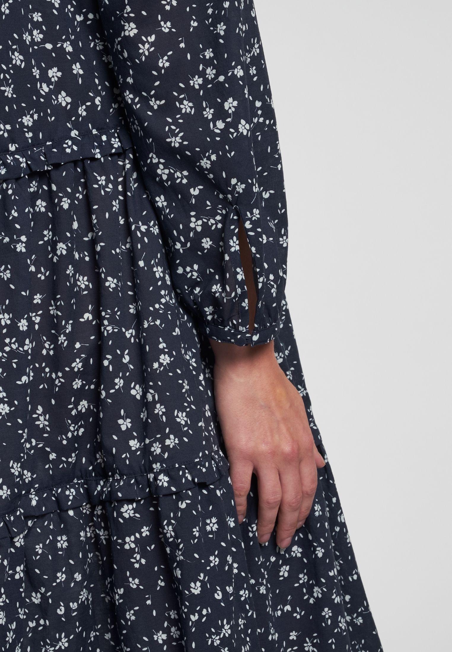 Kleid blau  Kleider, Langärmliges kleid, Langarm kleid