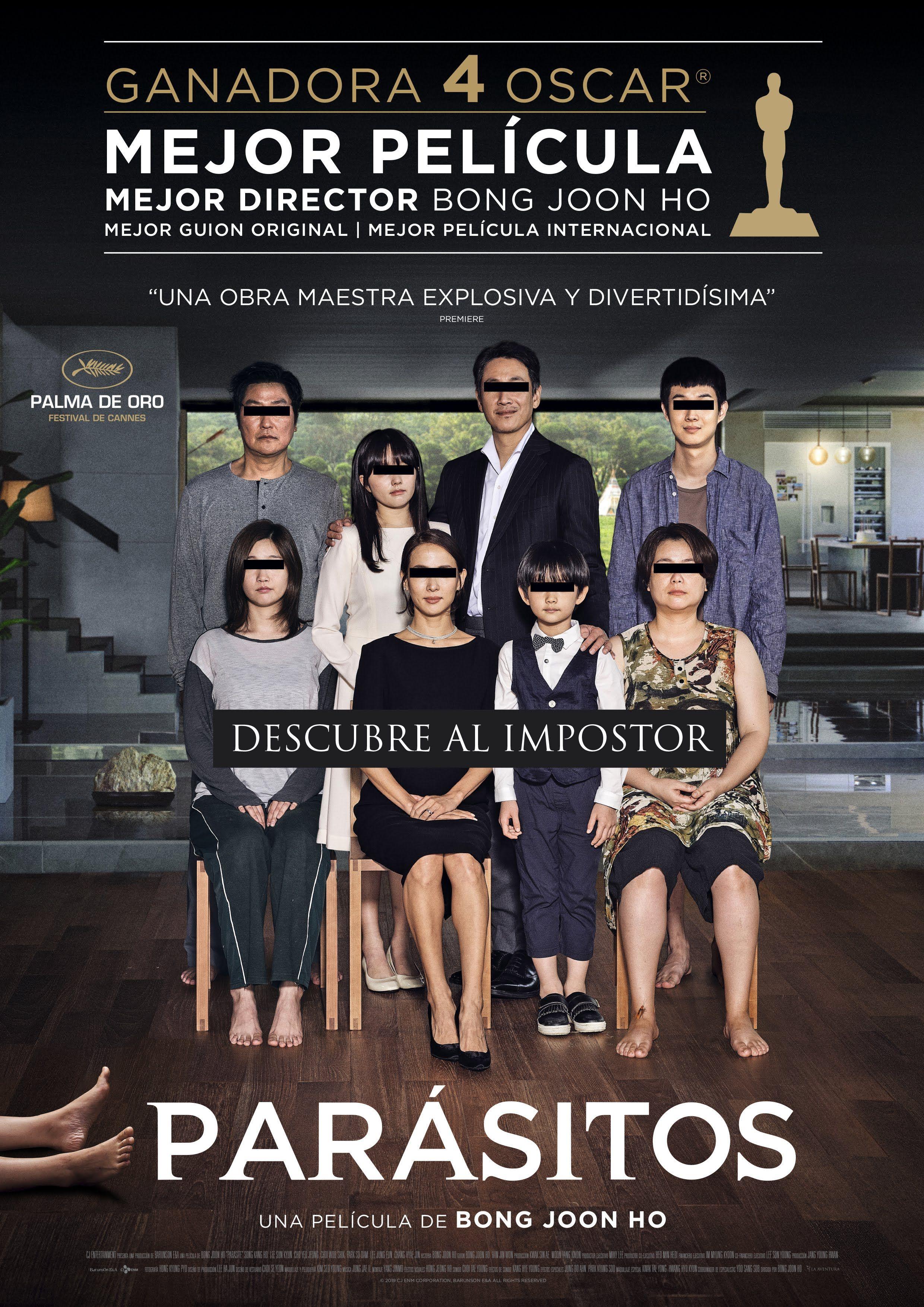 Parasitos 2020 韓国 映画 映画 ポスター 映画