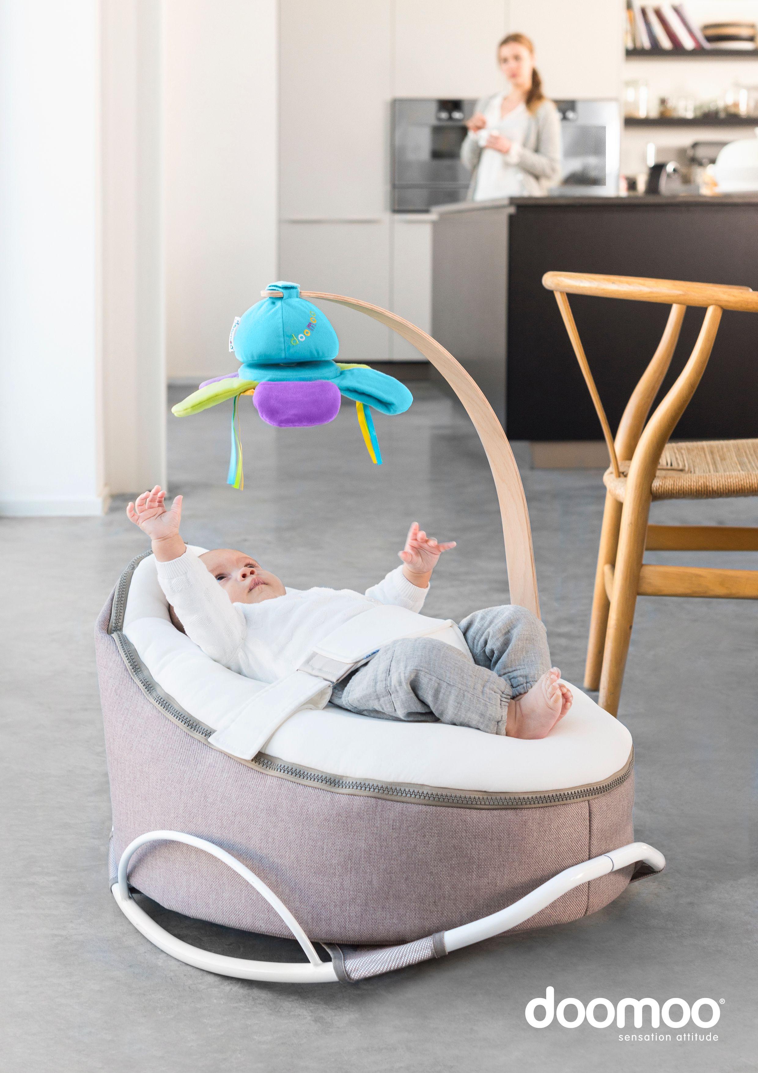 Doomoo Zitzak Lime.Doomoo Arch Swing Bassinet Baby Furniture