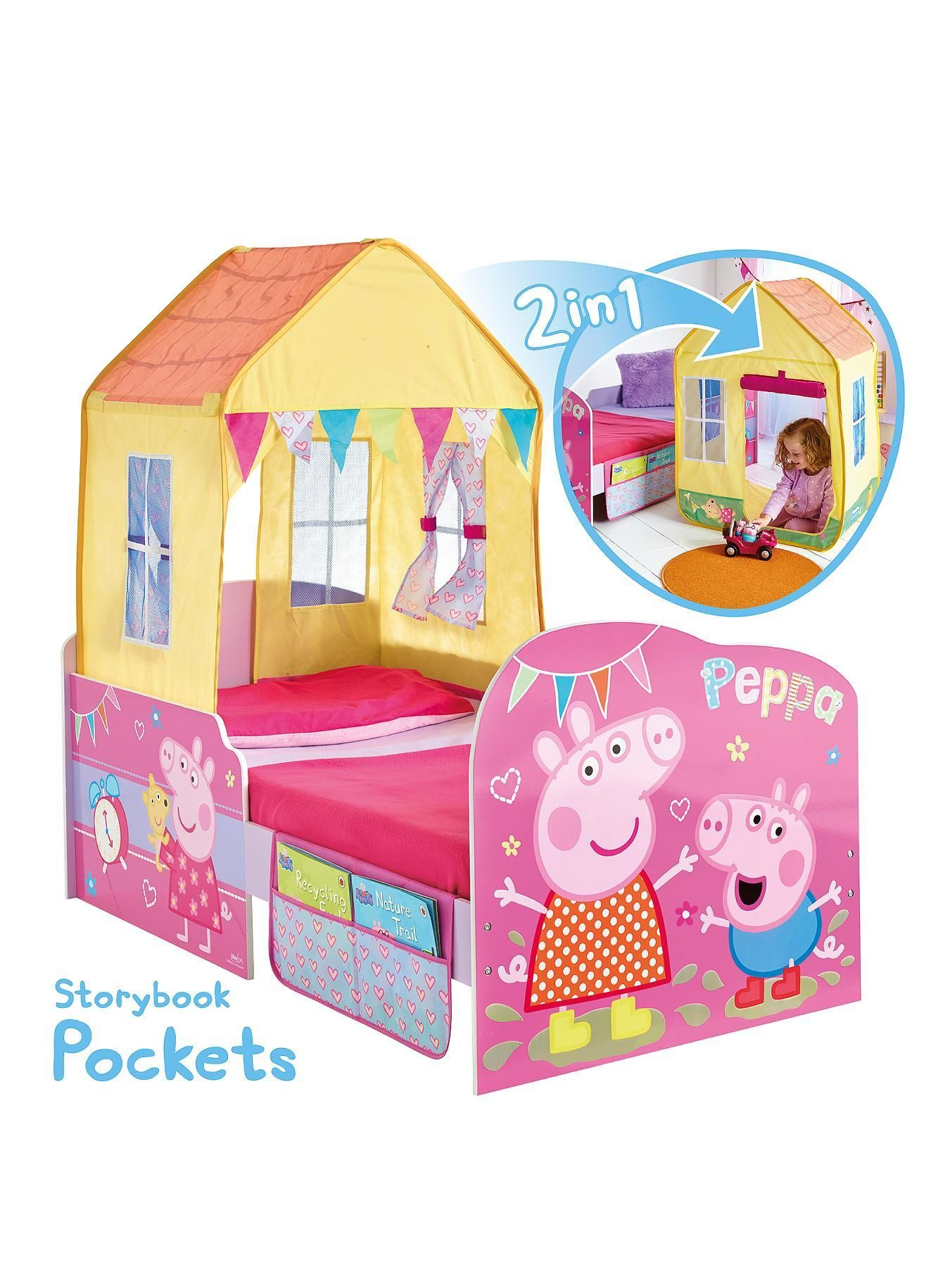 Peppa Pig Startime Toddler Bed Very Co Uk Rylie Anne  # Muebles De Peppa Pig