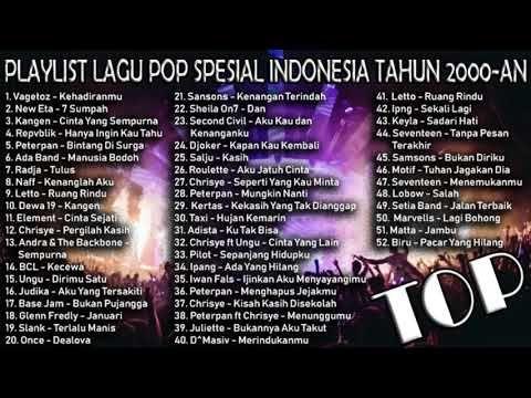 LAGU POP INDONESIA SPESIAL TAHUN 2000AN YouTube Lagu