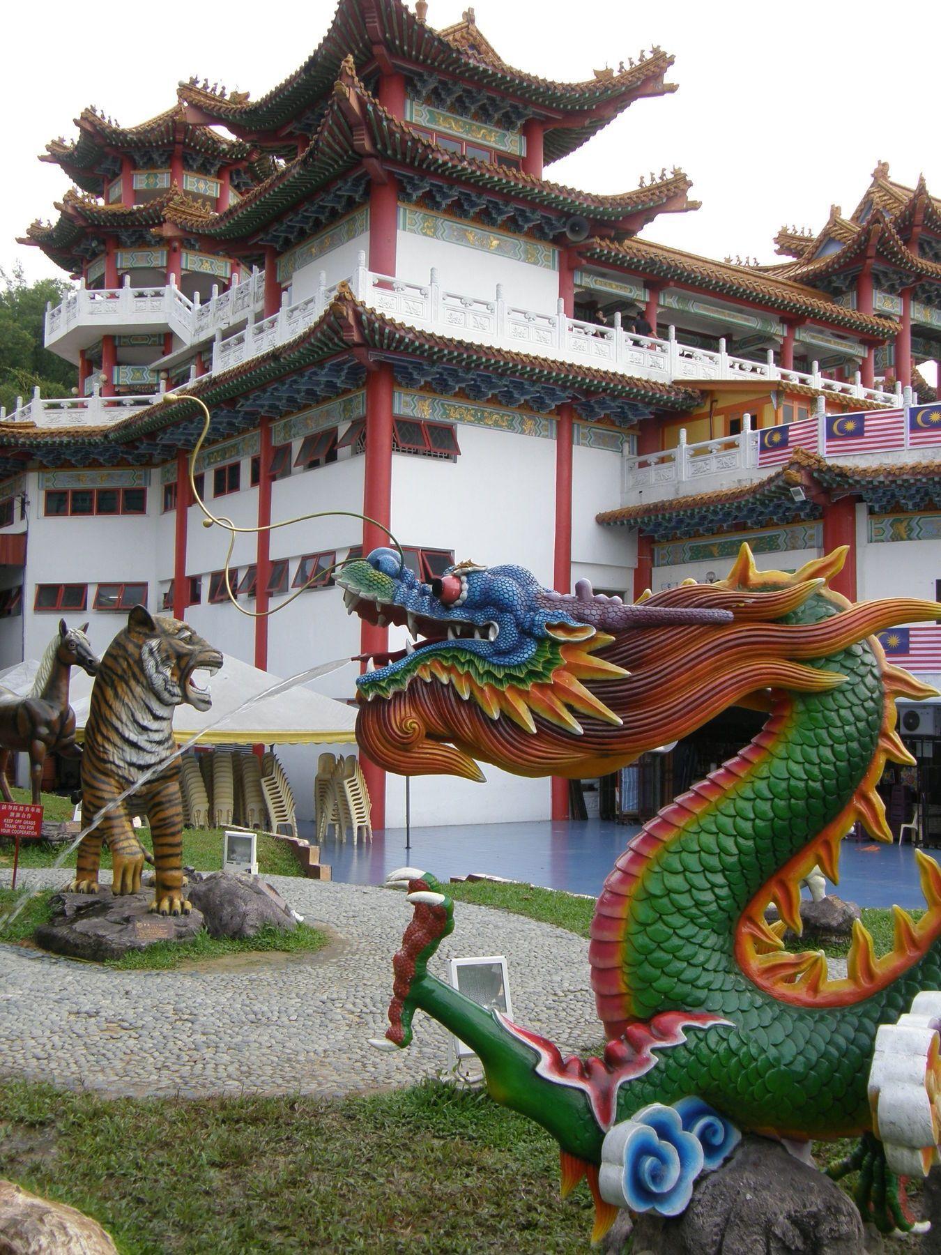 Thean Hou Temple in #KualaLumpur, #Malaysia