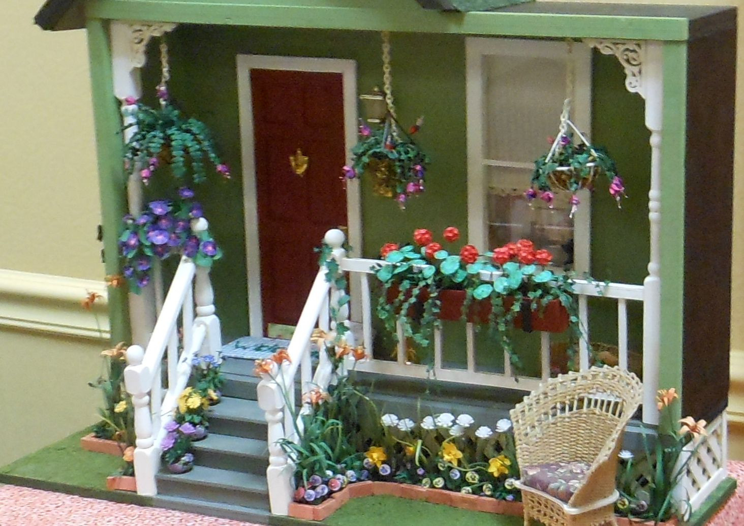 front porch display